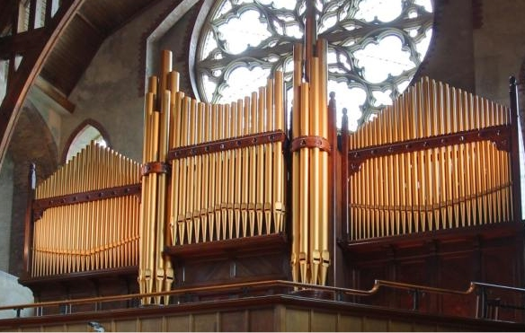 St Barnabas Organ – Details and Specification